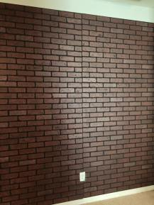 red faux brick sheets
